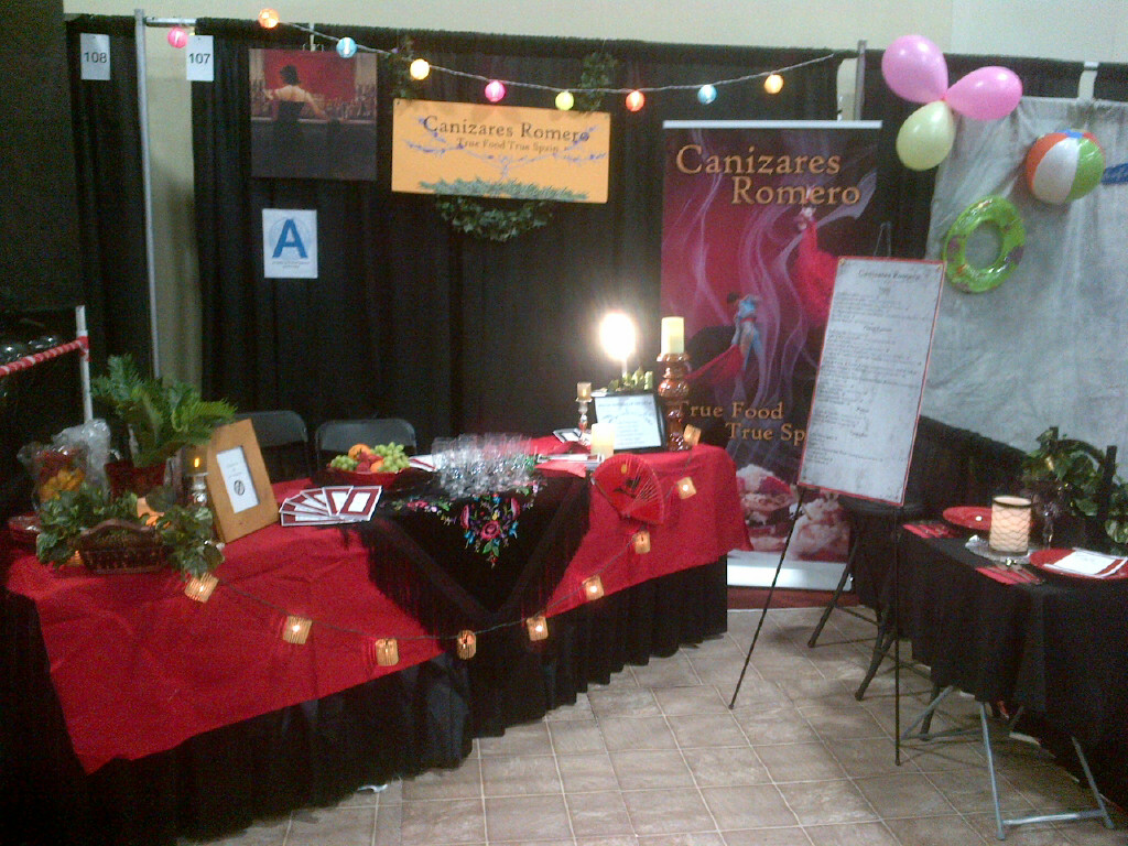 Canizares Romero booth at the San Diego Trade Show April 8,2013